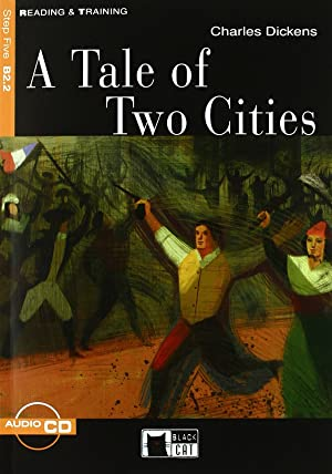 A tales of two cities. reading and: Dickens, Charles