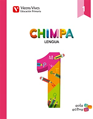 14).chimpa 1r.prim (lengua cataluya) aula activa trimest.: Vv.Aa.