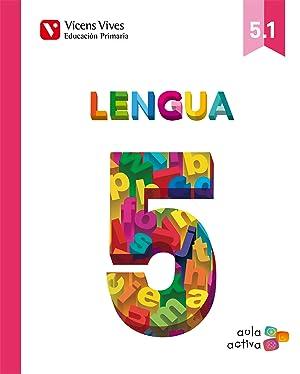 14).lengua 5º.primaria (aula activa)/trimestral: Vv.Aa.