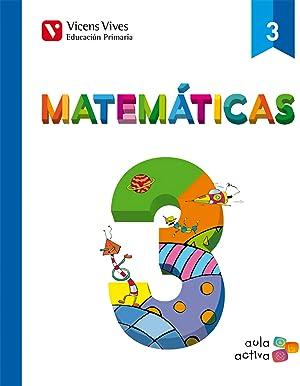 14).matematicas 3º.primaria.(aula activa)/trimestral: Vv.Aa.