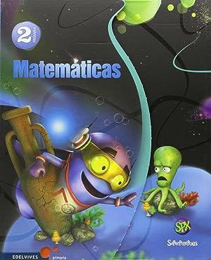15).matematicas 2º prim.(superpixepolis) trimestral: Vv.Aa
