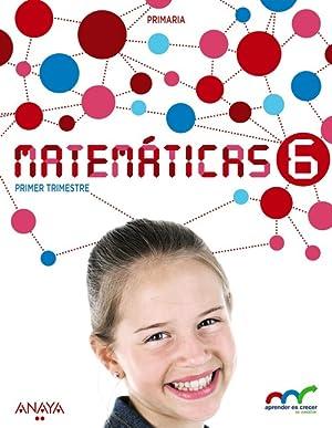 15).matematicas 6ºprim.*galicia* aprender es crecer: Vv.Aa.