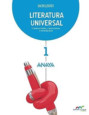 Literatura Universal.: Gutiérrez Ordóñez, Salvador/Serrano Serrano, Joaquín/Hernández García, Jesús