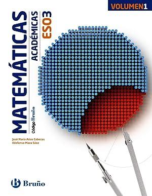 15).matematicas 3ºeso academicas *trimestral*: Aa.Vv.