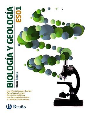 15).biologia geologia 1ºeso *un volumen*(bruÑo): Aa.Vv.