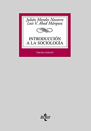 Introducción a la sociología: Morales Navarro, Julián/Abad