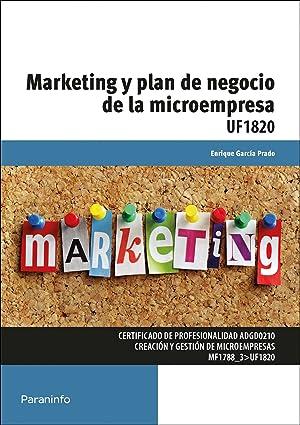 Marketing y plan de negocio de la microempresa: García Prado, Enrique