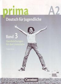Prima band 3 a2 handreichungen.(libro profesor): Jin, Friederike