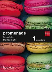 15).promenade a1.(livre) 1ºeso frances: Aa.Vv.