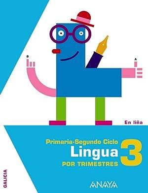 Ant/(g).(12).lingua galega 3º.prim.(en liÑa) trimestral: Equipo Carabeiro