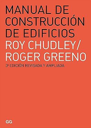Manual de construcción de edificios: Chudley, Roy