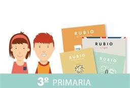 Pack cuadernos rubio 3º primaria: Aa.Vv.