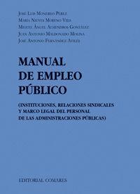 2010).manual de empleo publico.(derecho laboral): Vv.Aa.
