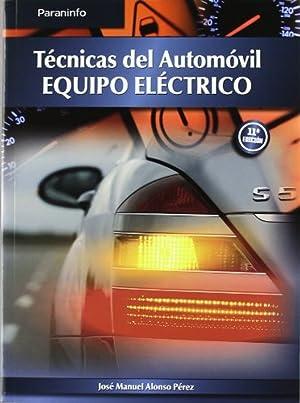 "09).(g.s).tecnica del automovil ""equipo electrico"": Alonso, Juan Manuel"