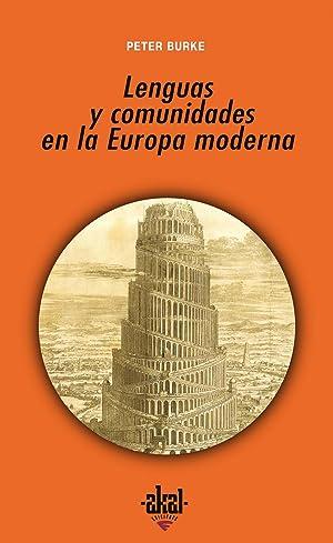 Lenguas y comunidades en la Europa moderna: Burke, Peter