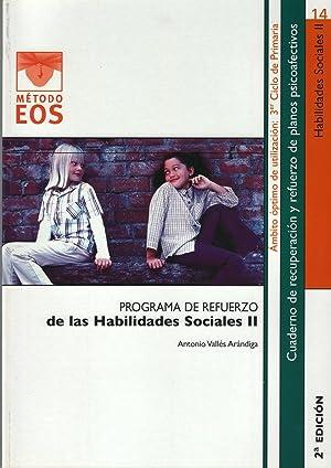 Habilidades sociales: Valles Arandiga, A.