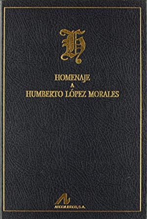 Homenaje a Humberto lópez Morales.: María Vaquero/Amaparo Mora.