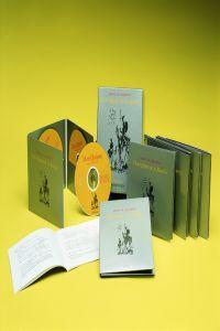 Don Quijote de la Mancha 37 audiolibros: Cervantes, Miguel De