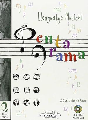 Llenguatge musical pentagrama 2 Grau Mitja: Amat, C