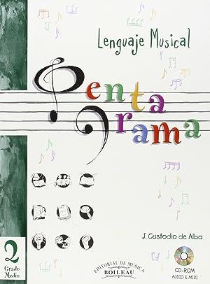 Lenguaje musical pentagrama 2: Custodio De Alba, J