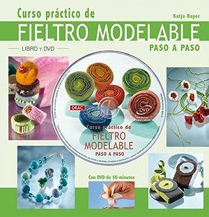 Curso practico fieltro modelabre +DVD: Bayer, Katja