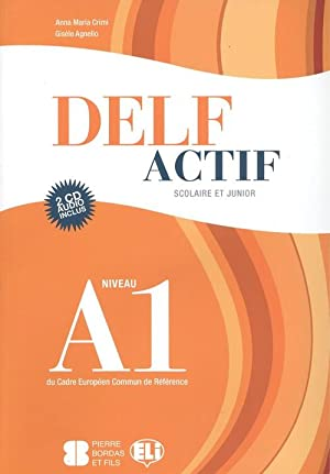 Delf actif a1 book +2cd scolaire et: Crimi, Anna Maria