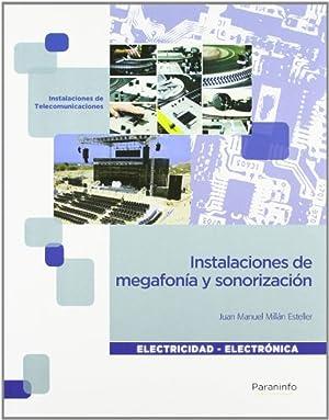 12).(g.m).instalaciones megafonia y sonorizacion. inst. megafonia y: Millan Esteller, Juan