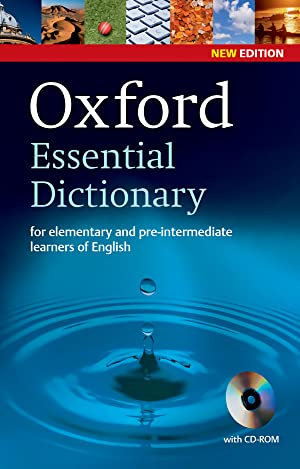 Oxford Essential Dictionary 2nd Edition Dictionary and: Vv.Aa.