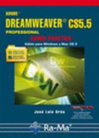 Adobe dreameaver cs5.5 profesional:curso practico: Oros Cabello, José
