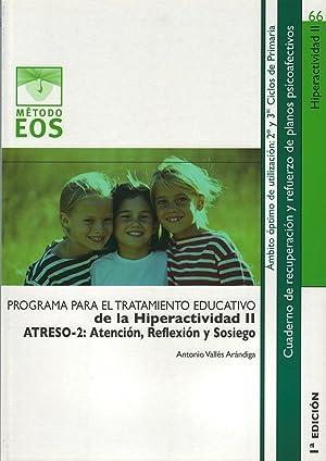 Programa para tratamiento de hiperactividad: Vv.Aa.