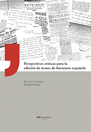 Perspectivas Criticas Edicion De Textos Lit.Española: Penas Varela, Ermitas