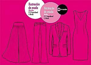Ilustración de moda. Ilustraçao de moda Plantillas.: Feyerabend, F.v./Ghosh, Frauke