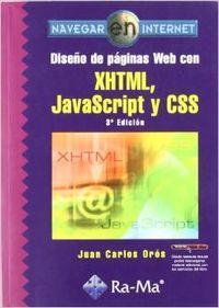 Diseño de páginas Web con XHTML, JavaScript: Oros Cabello, Juan