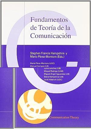Fundamentos teoria comunicacion: Hampshire, Stephen