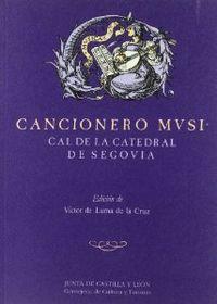 Cancionero musical catedral segovia: De Lama, Victor