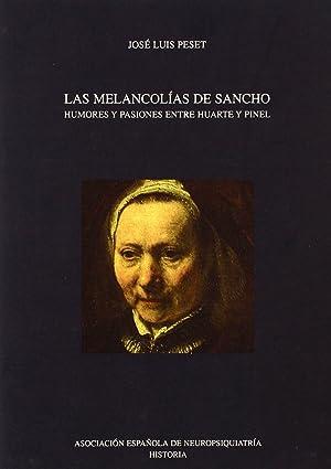 Melancolias de sancho: Peset, Jose