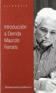 Introduccion a derrida: Ferraris Maurizio
