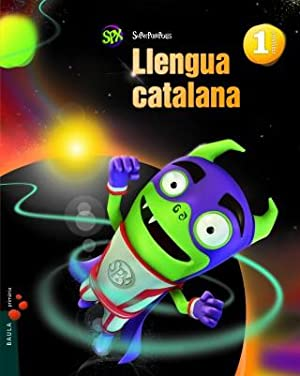 cat).(14).llengua catalana 1r.prim (superpixepolis): Aa.Vv.