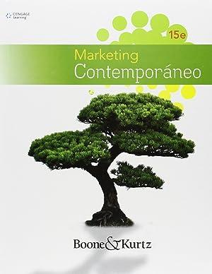 Marketing contemporáneo: Boone, Louis E.