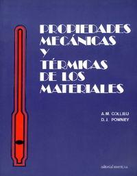 Propiedades mecánicas y térmicas de materiales: Collieu, A. M.