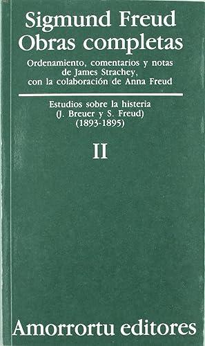 O.c freud 2 estudios sobre la histeria: Freud, Sigmund