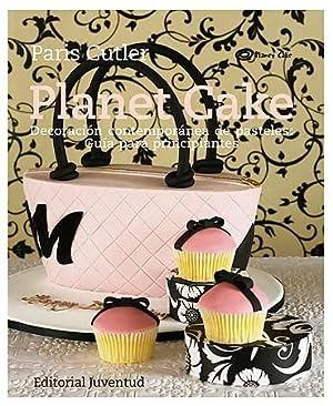 Planet cake:Decoración contemporánea pasteles: Cutler, Paris