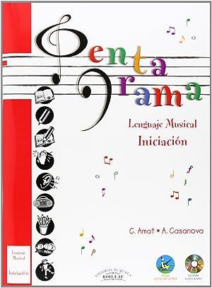 Pentagrama:pre-lenguaje musical iniciación: Casanova, A