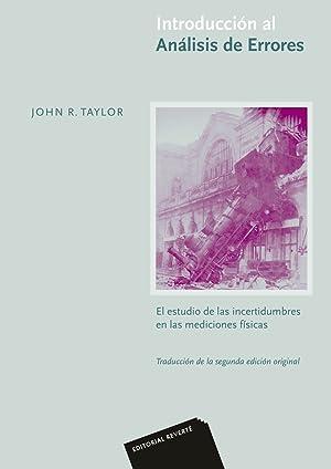 Introducción al Análisis de Errores: Taylor, John R.