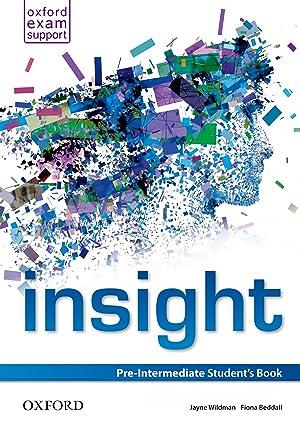 st).insight pre-intermediate student s book: Wildman, Jayne