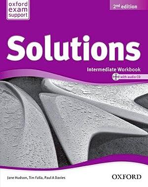 Solutions Intermediate Workbook & CD Pack 2ª Edición: Falla, Tim