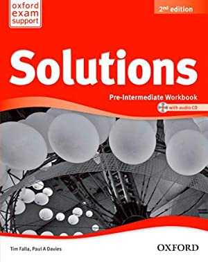 Ant/(14).solutions pre-interm.(workbook+cd pack) (b1).2nd.e: Falla, Tim