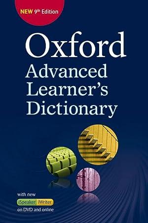 Oxf Adv LearnerS Dict 9E Pb+Dvd-R+Ol Ac: Vv.Aa.
