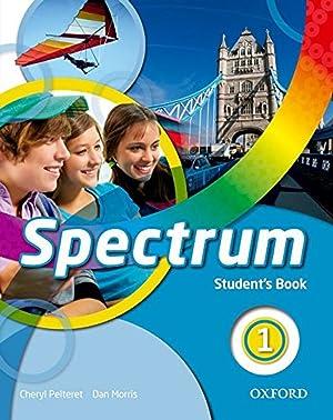 15).spectrum 1º.eso student book: Pelteret, Cheryl