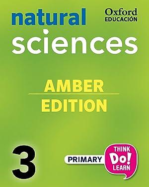 15).natural science amber 3ºprim.(pack).(+cd).: Vv.Aa.
